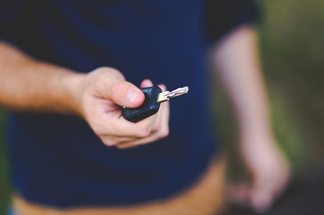 půjčený vůz