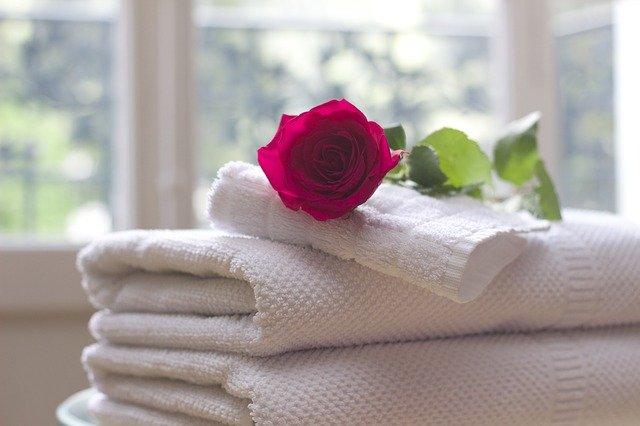 čisté ručníky